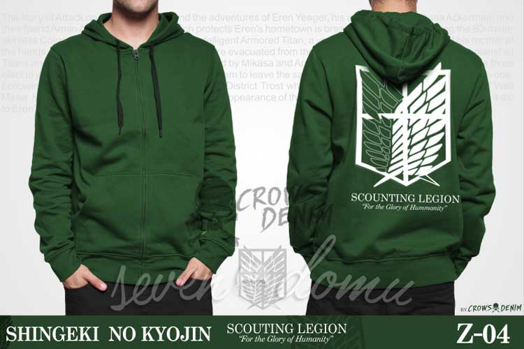 Z04-Jaket-Anime-Shingeki-no-Kyojin---Scouting-Legion-(Hooded-Green)