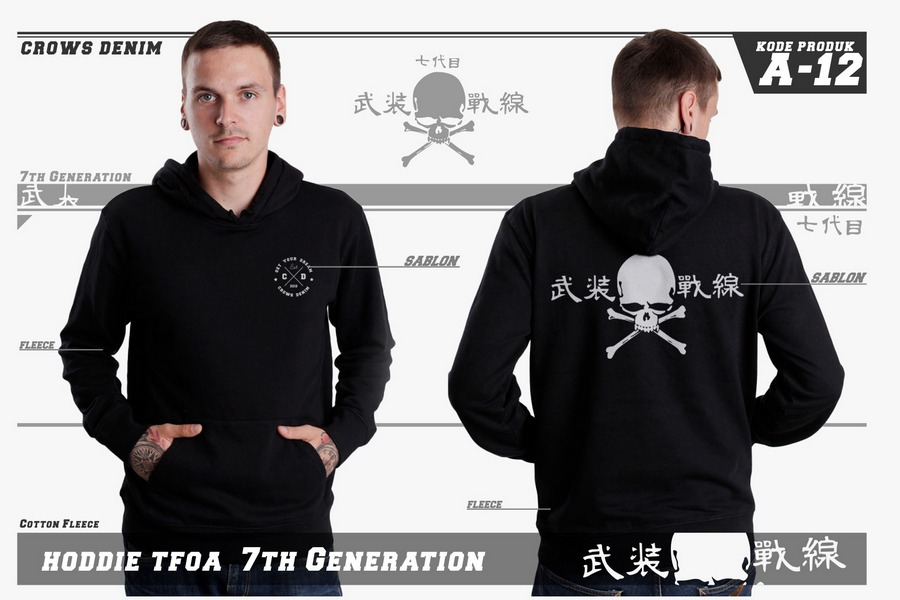 Jaket T.F.O.A biker 7th edition A-12 (1)